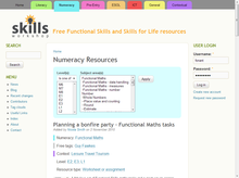 Skills Workshop: Home page