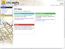 CTC Maps: Home page