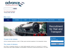 Advance Recruitment for Rail and Transport