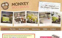 Monkey Moo Moos VW Camper Homepage