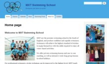 MXT Swimming School Homepage