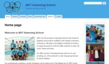 MXT Swimming School Homepage